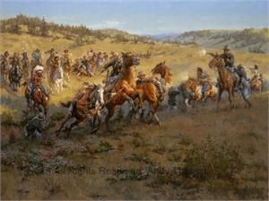 Battle of Rosebud by Andy Thomas kK