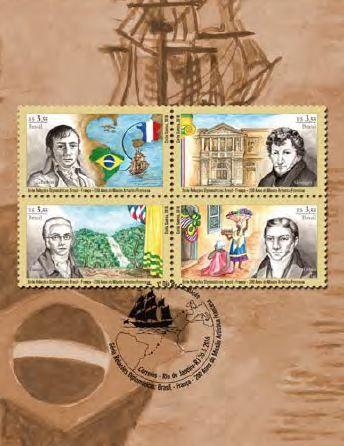 Selos homenageiam 200 anos da chegada de missão artística francesa ao Brasil - http://www.publicidadecampinas.com/selos-homenageiam-200-anos-da-chegada-de-missao-artistica-francesa-ao-brasil/