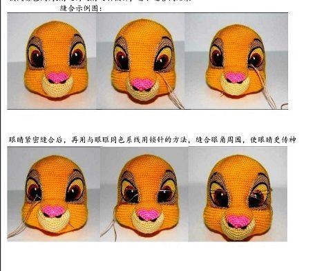 tig isi oyuncak aslan kral simba yapimi (3)