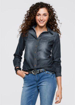 Jeans-Bluse, John Baner JEANSWEAR