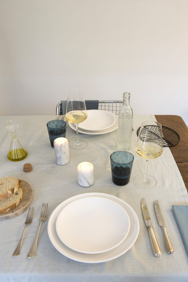 Table setting by Emma Kookt