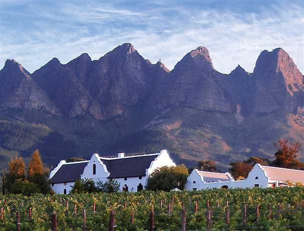 No Safari in South Africa is complete without a quick stop in the Winelands (close to Stellenbosch) - the setting is ideal - amazing mountains & numerous wine farms to explore - A must #Travel #SouthAfrica