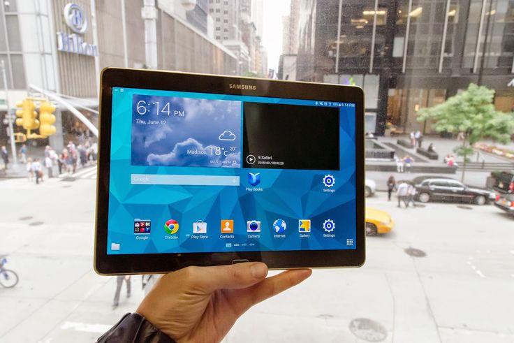 Iklan terbaru Samsung Galaxy Tab S yang membandingkan kelebihan dibanding iPad Air