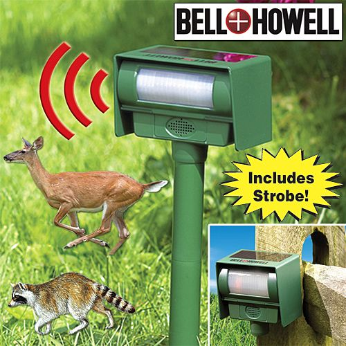 Bell Amp Howell Solar Pest Repeller Is The Ultimate In Back