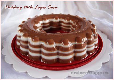 Pudding Milo Lapis Susu