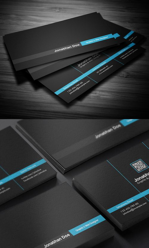 Creative Business Card #businesscards #businesscardstemplate #psdfiels #psdtemplates