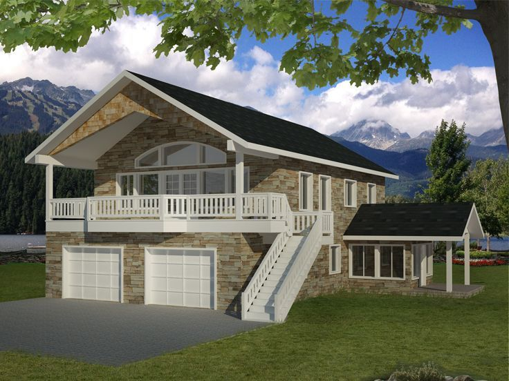 25 best ideas about garage apartments on pinterest for Carport apartment plans
