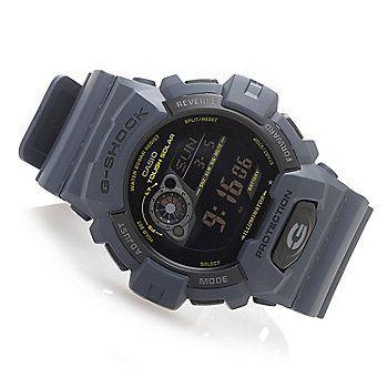 Casio 49mm G-Shock Tough Solar Quartz Digital Rubber Case & Strap Watch