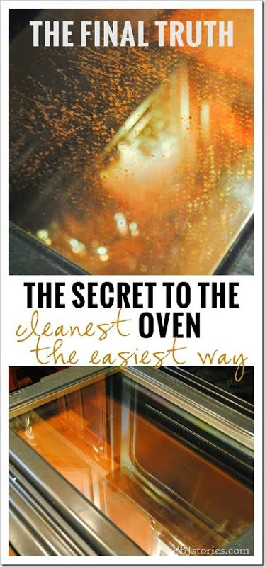 how to clean the worst oven
