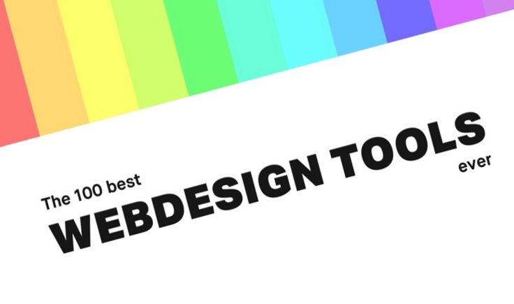 The 100 Best Web Design Tools Ever - infographic http://www.digitalinformationworld.com/2016/09/infographic-100-best-web-design-tools-ever.html