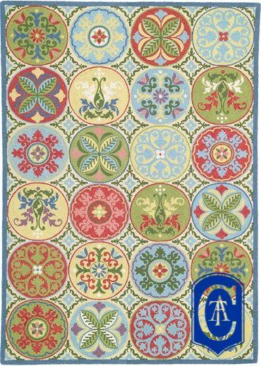 Tapete Arraiolos - NY Portuguese Needlepoint rugs -