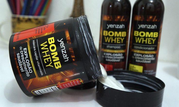 - Bomb Whey Yenzah: Uma linha que vai bombar o crescimento dos seus cabelos!Jaqueline Fernandes