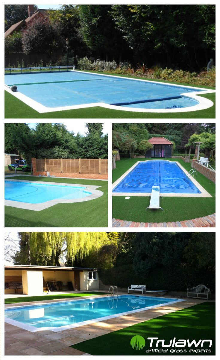 Did you know Trulawn is great for pool areas? Artificial grass is naturally non-slip, and gloriously lush underfoot.
