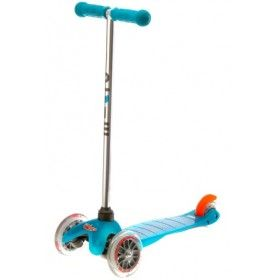 Microscooters - Mini Micro Scooter Aqua  Because J loves scooting around. #EntropyWishList #PinToWin