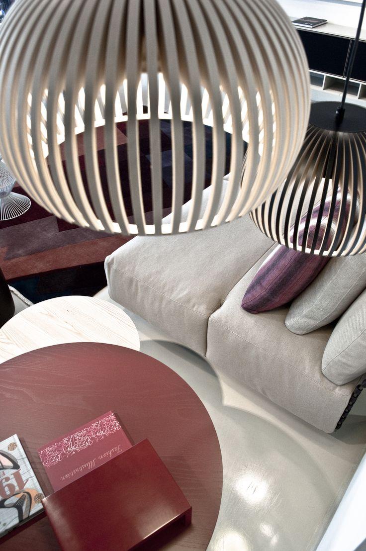 wood sospension lamp