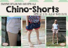 "Erweiterung+""Chino-Shorts""+Kombi+von+FeeFee++auf+DaWanda.com"