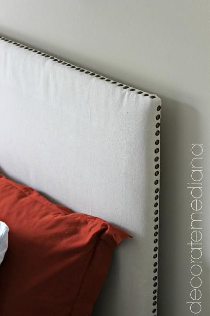 DIY Upholstered Headboard DIY House Furnishings; Use The Large Styrofoam Out If The G…