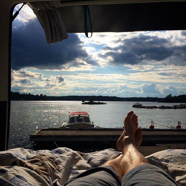 #westfalia #sweden #vanlife #outdoor
