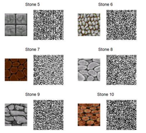 35 best images about acnl stone paths on pinterest for Floor qr codes new leaf