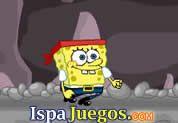 Spongebob Dangerous Cave: Juego de bob esponja, ayudarlo a saltar con el mouse y acumular monedas y trata de no caer para lograr llegar al final http://www.ispajuegos.com/jugar4623-Spongebob-Dangerous-Cave.html