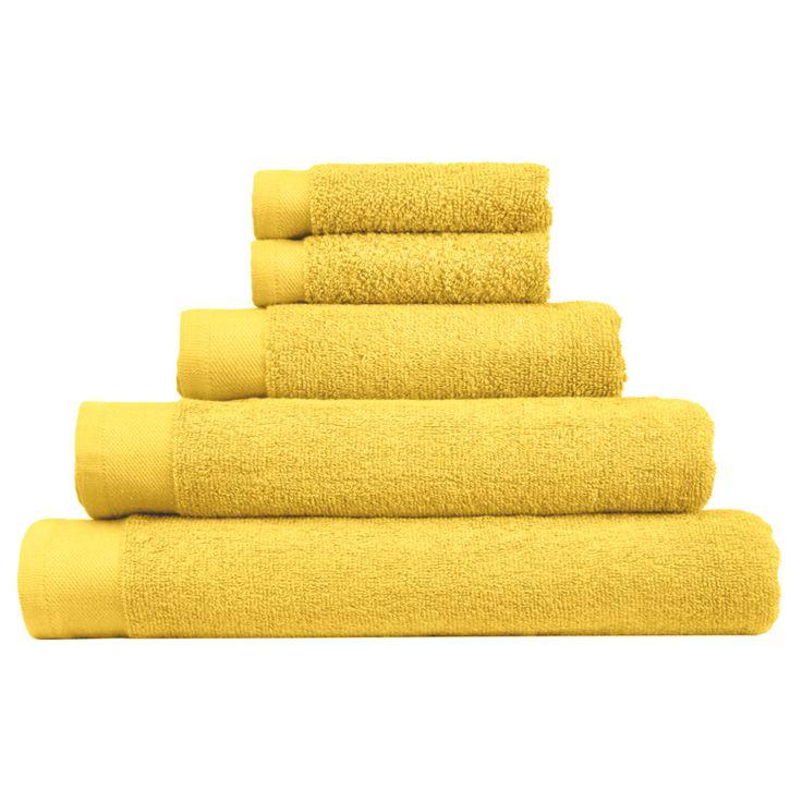 Fesselnd Yellow Hand Towel