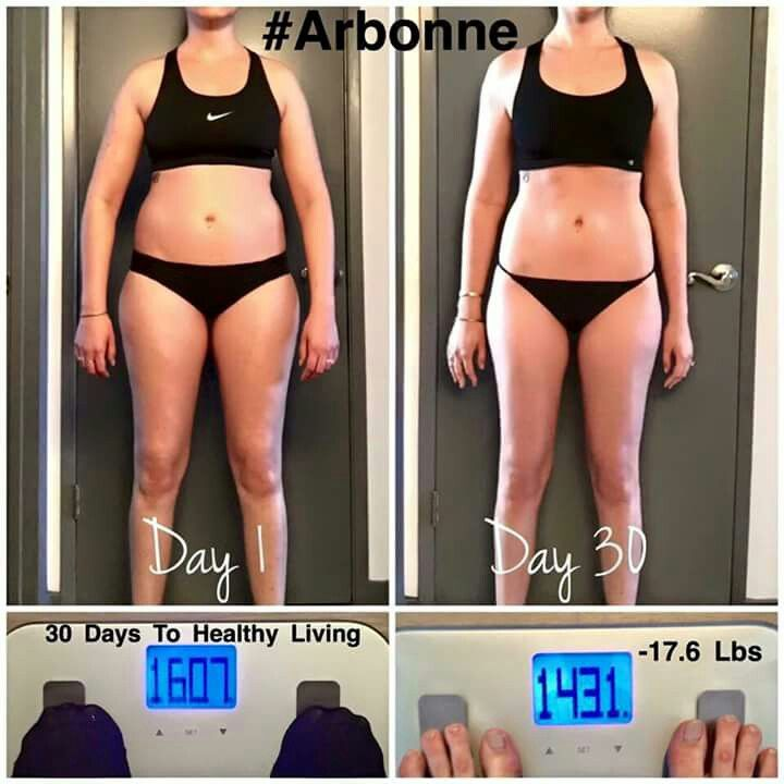Arbonne 30 Days to Healthy Living  Before and After Results  Shop @ http://luzmariaheredia.arbonne.com