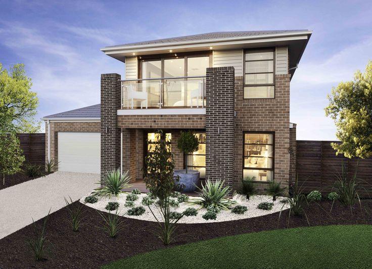 Cleo nouveau facade newhome simonds double storey for New home designs melbourne victoria