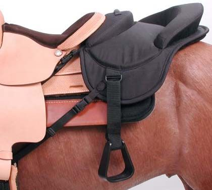 Childs Ride Behind Tandem Saddle for Western Saddle Tough-1 this could come in handy.