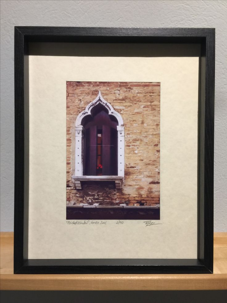 Pointed Window - Venice Vintage Photography