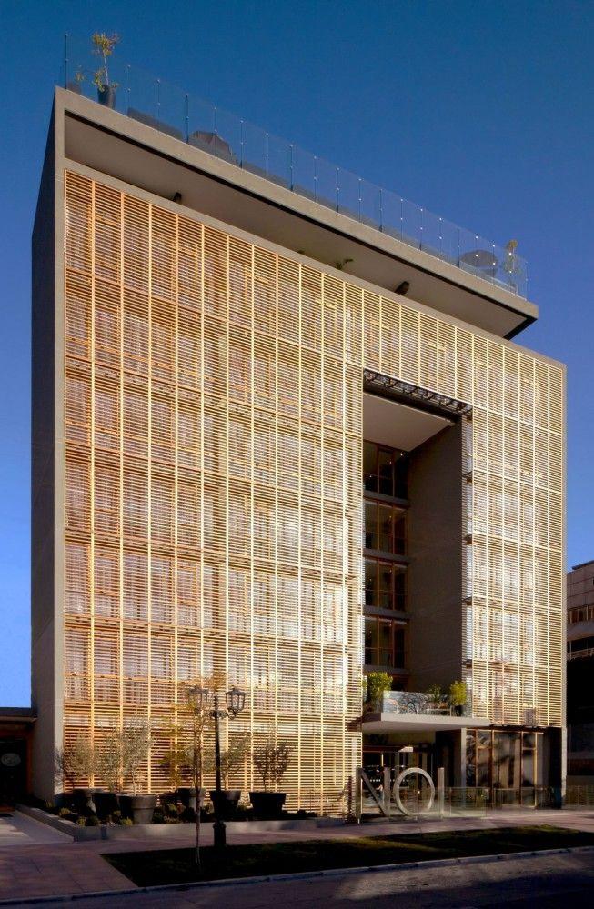 NOI Hotel / Jorge Figueroa + AsociadosArchitecture Buildings, Jorge Figueroa, Noi Hotels, Architecture Facades, Art Architecture, Hotels Noi, Architecture Hotels, Asociado Arquitectos, Buildings Architecture