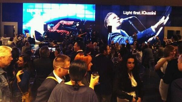 Matthew Lee Live at our stand. Light Building 2014 #lighting #lb14 #music #iguzzini