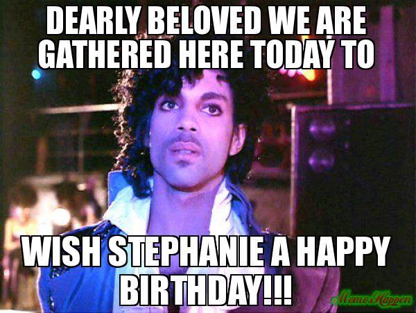 Happy Birthday Stephanie Meme