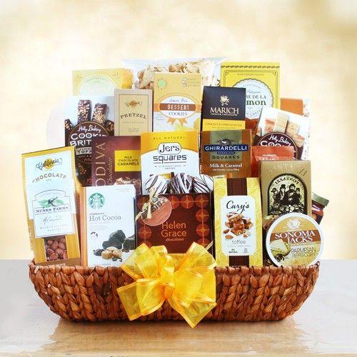 Ultimate Gourmet Sympathy Basket