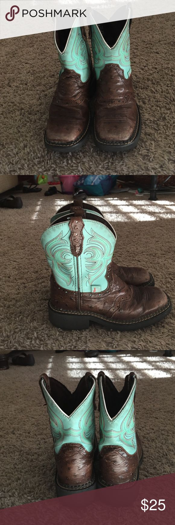 Toddler size Justin boot Cute Justin boot size 11D toddler GUC Justin Boots Shoes Boots