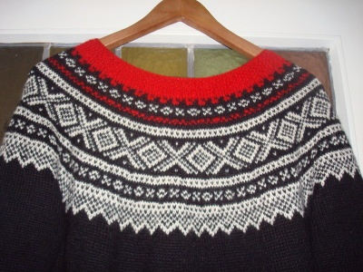 Marius knitting sweater
