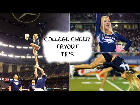 The ULTIMATE Guide to College Cheer Tryouts