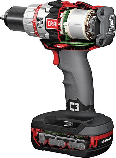 Craftsman C3 Brushless Drill/Driver