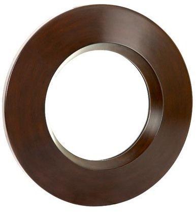 "Rook Walnut Mirror 32"""