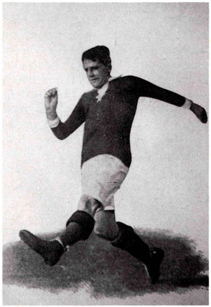 Gottfried Fuchs- deutscher Nationalspieler- schoß 10 Tore beim Länderspiel Deutschland - Rußland 16:0 - Olympische Spiele 1912