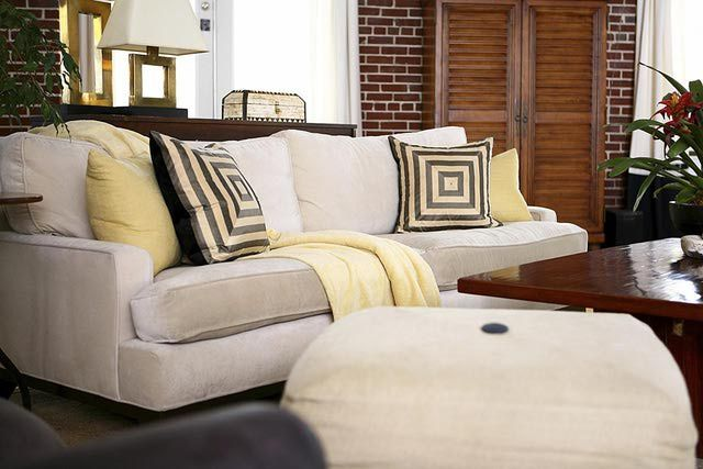 If you want to reupholster an old sofa, consider whether it is worth the expense. In some cases it is best to discard that sofa and move on to a new one, while there are some cases where reupholstering makes perfect sense.