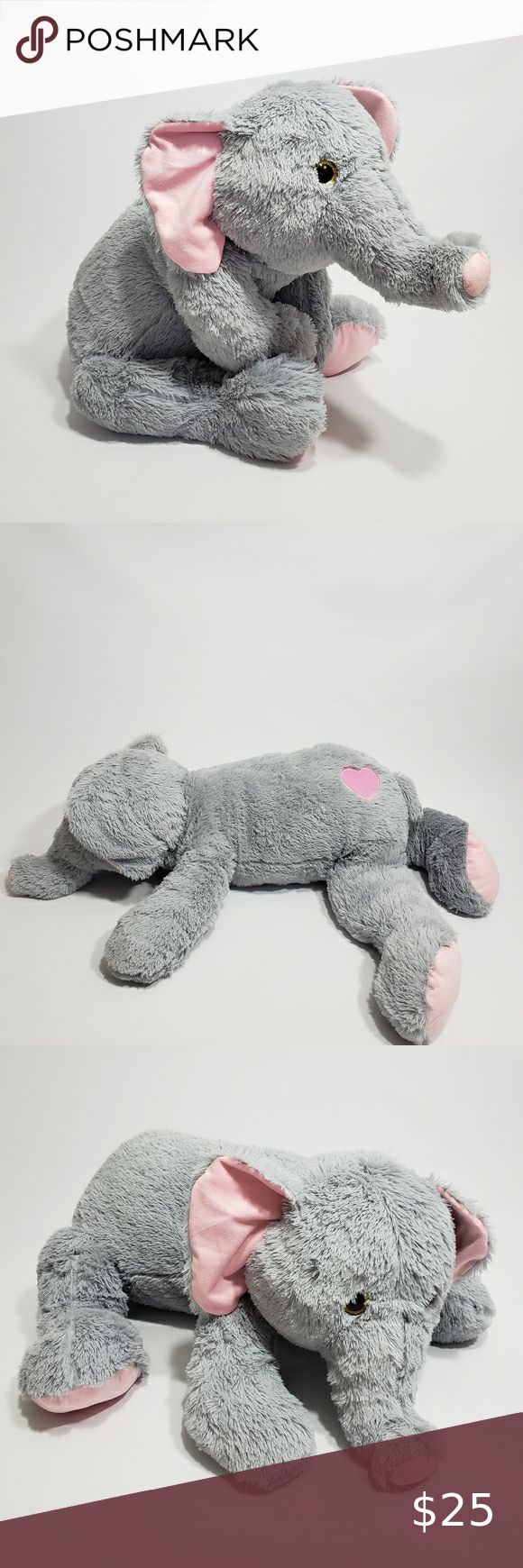 43 Giant Elephant Stuffed Animal Plush Heart Larg Elephant Stuffed Animal Plush Elephant [ 1740 x 580 Pixel ]