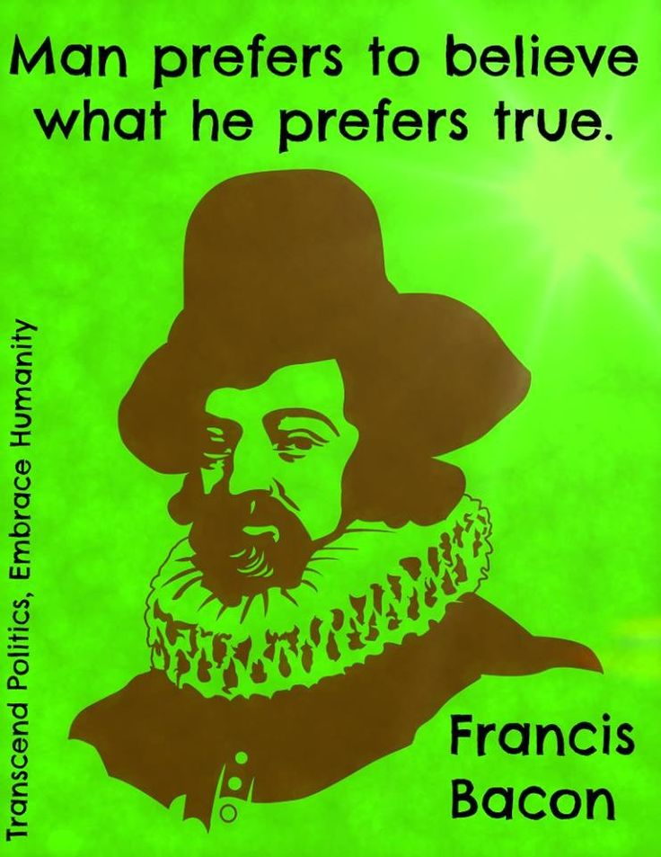 thoughts of francis bacon about love Francis bacon (1561—1626) and it would represent a kind of summa or culmination of all bacon's thought on subjects ranging from logic and epistemology to.