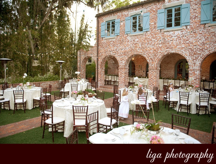casa feliz winter park fl beautiful venue wedding