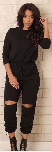 Women bodycon jumpsuit Long sleeve women jumpsuits sexy club ladies rompers bandage Elastic waistband