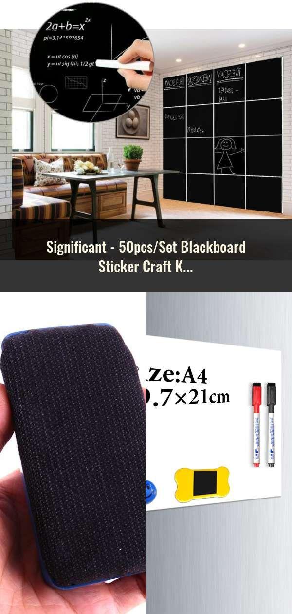 50pcs Set Blackboard Sticker Craft Kitchen Jar Organizer Labels