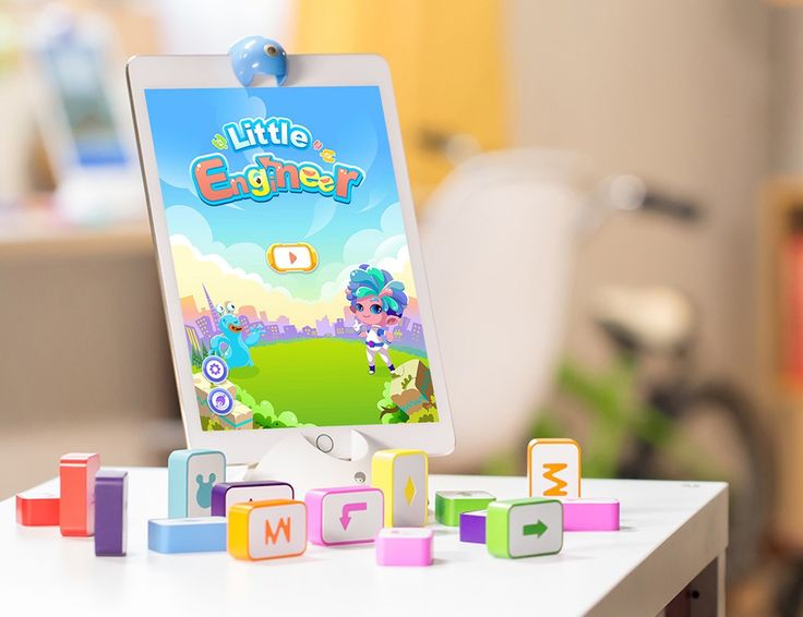 Let kids learn to program in a whole new way with Little Engineer.