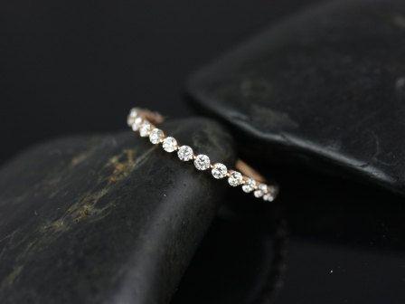 Petite Bubble & Breathe 14kt Rose Gold Diamond
