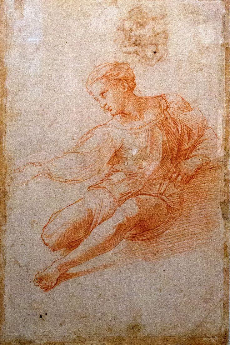 Rafael, estudio para la Virgen de la Casa de Alba, 1511