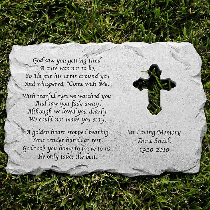 Memory Garden Ideas cool and opulent memorial garden stones interesting ideas memory stones for the garden Cross Memorial Stone
