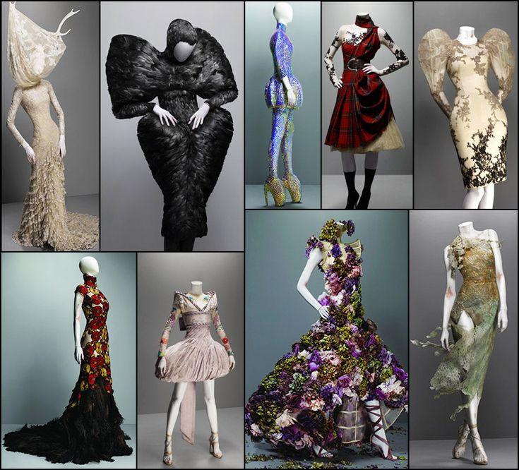 Alexander McQueen Savage Beauty At Mets Costume Institute